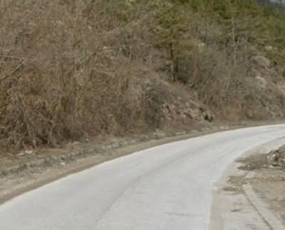 Пътят Средногорци - Рудозем СНИМКА: Google Street View