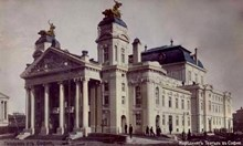 Откриването на Народния театър е първото документирано масово освиркане на властта