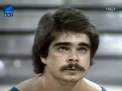 Минчо Пашов през 1982 година КАДРИ БНТ