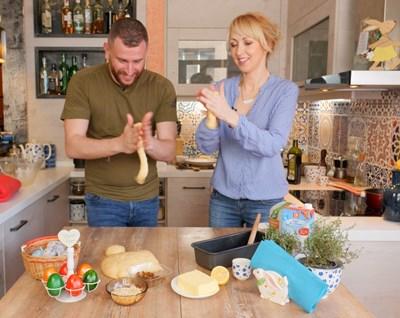 В кухнята на Мила и Толик днес звездата е козунакът
