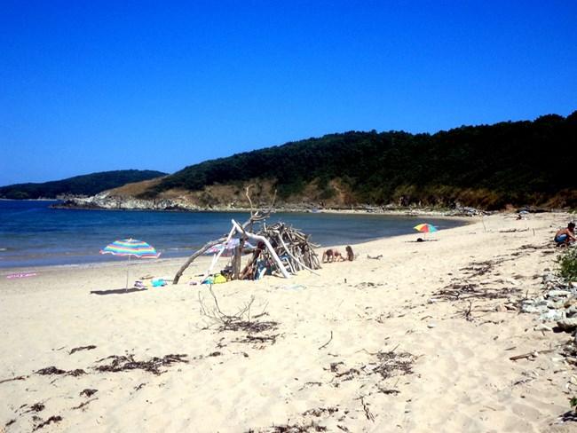 Плажът на Аркутино е един от най-красивите по родното Черноморие.