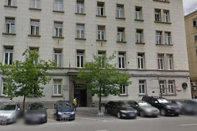 Сградата на Върховния административен съд в София Снимка: Google street view