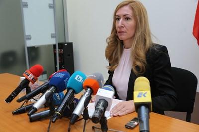 Николина Ангелкова. Снимка министерство на туризма
