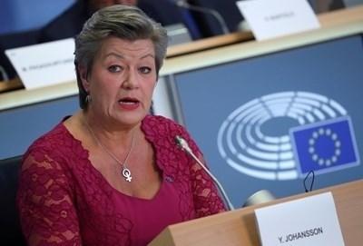 Еврокомисарят по вътрешните работи Илва Йохансон СНИМКА: Ройтерс