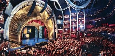 Залата на Долби тиътър, където за 89-и път ще бъдат раздадени най-големите филмови награди.
