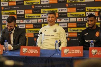 Балъков ще направи със сигурност ротации в състава си от този, който направи 0:0 срещу Черна гора в Подгорица.