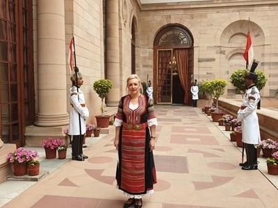 Новата посланичка на България в Индия Н.Пр. Елеонора Димитрова СНИМКА: Фейсбук/Български дипломатически институт/Bulgarian Diplomatic Institute