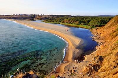 """Плажовете на Синеморец са в защитената територия на парк """"Странджа"""". СНИМКА: Иван Михалев"""