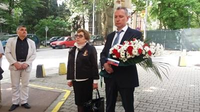 Владимир Русяев като първи секретар на руското посолство у нас на честване на 9 май тази година в Стара Загора.  СНИМКА: АРХИВ