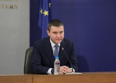 Владислав Горанов СНИМКИ: Правителствената пресслужба