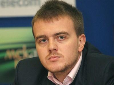 Петър Ганев, Институт за пазарна икономика. Снимка: Архив