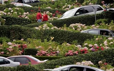 Lombard Street Снимки Ройтерс