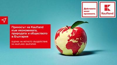 Нетният принос на Kaufland България към българското общество е положителен