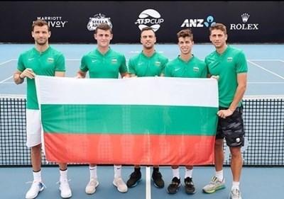 Номинираха българската еуфория за най-емоционална радост на ATP Cup