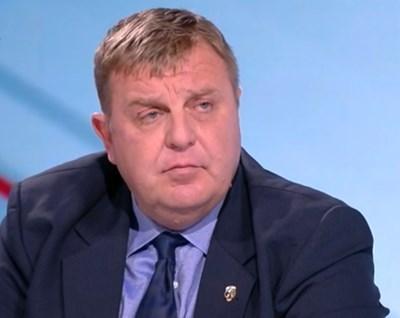 Красимир Каракачанов КАДЪР: bTV