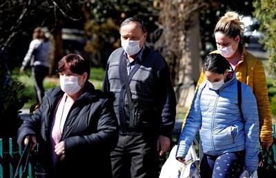 201 са заразените с коронавирус в Северна Македония СНИМКА: Ройтерс