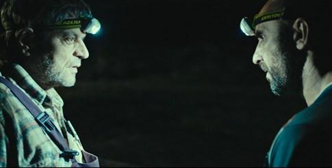 """Кадър от филма """"Нощна смяна"""" с участието на Христо Петков (вдясно)"""
