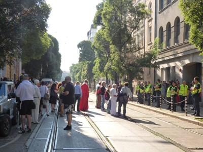 Протест срещу Гешев СНИМКИ: Румяна Тонева