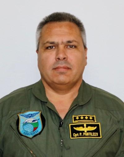 Капитан Пламен Пантилеев СНИМКИ: Министерство на отбраната