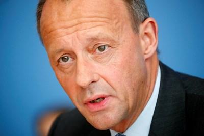 Германският консервативен политик Фридрих Мерц  СНИМКА: Ройтерс