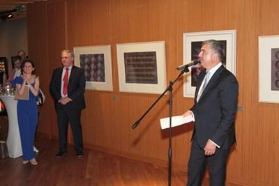 """Петър Дяков, генерален директор на """"Клийвс Сан стефано"""" (вдясно), и  инж. Николай Караянев,  изпълнителен директор на """"Сан Стефано Пропърти дивелопмънт"""" (вляво), официално представиха луксозните апартаменти"""