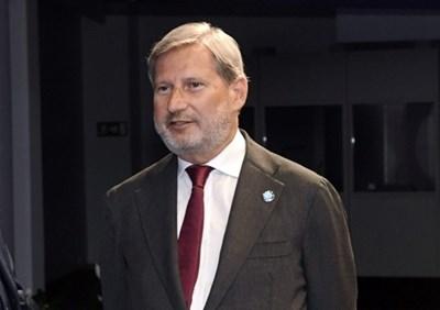 Йоханес Хан СНИМКА: РОЙТЕРС