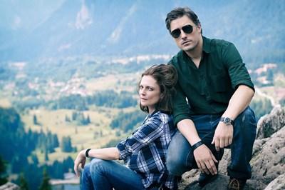 Теодора Духовникова и Владо Карамазов са в главните роли в сериала. СНИМКА: НОВА ТВ