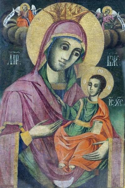 """Чудотворната икона """"Св. Богородица"""" във Врачешкия манастир край Ботевград"""