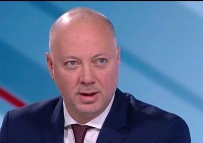 Министърът на транспорта Росен Желязков КАДЪР: Би Ти Ви