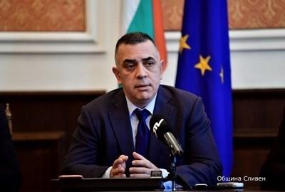 Досегашният кмет на Сливен Стефан Радев