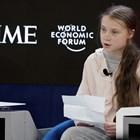 Грета Тунберг говори на форума в Давос.