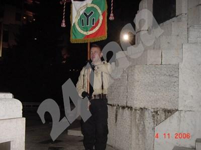 Емил Крумов през 2006 г. на събитие на БНС . Снимките са от архива на Боян Расате СНИМКА: 24 часа