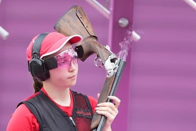 19-годишната българка Селин Али по време на олимпийския си дебют. СНИМКА: ЛЮБОМИР АСЕНОВ, LAP.BG