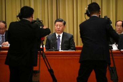 Китайският президент Си Дзинпин СНИМКА: Ройтерс