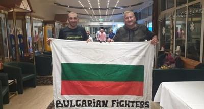 Владо Илиев с български фен в Оберхоф