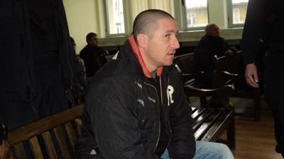 Манчо Панюков в съда СНИМКА: Тони Маскръчка