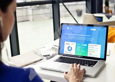 Под 5 процента от хората в България работят от вкъщи заради COVID-19, сочат данните на Евростат. СНИМКА: 24 часа