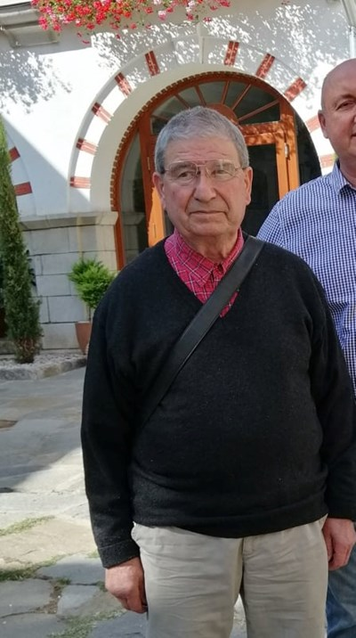 86-годишният Иван Манев