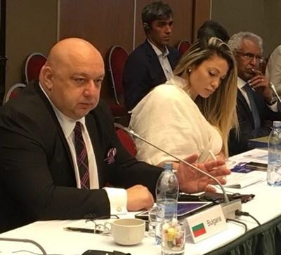 Кралев участва в работна среща в Москва по повод борбата с манипулирането на спортните състезания. Снимки ММС