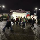 """77-и ден на протести: Шествието пак се отправи """"Царя"""" към Орлов мост (Снимки, обновява се)"""