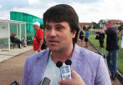 Бургаският бизнесмен Николай Филипов