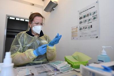 Инфекциозните заболявания в Германия са намалели с 1/3 на фона на COVID-19 СНИМКА: РОЙТЕРС