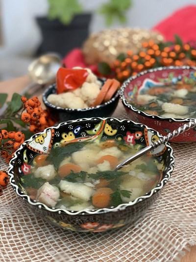 Супа с филе от пангасиус
