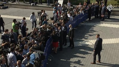 Журналисти чакат държавните ръководители на страните членки и колегите им от Западните Балкани