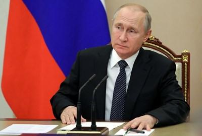 Владимир Путин. Снимка РОЙТЕРС