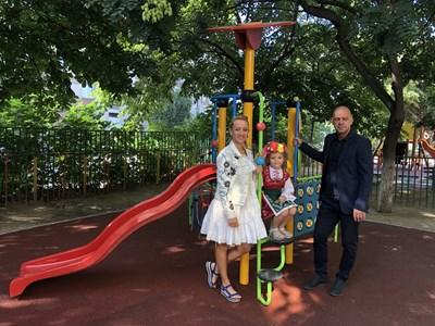 """Кметът на """"Тракия"""" Костадин Димитров разгледа новите придобивки"""
