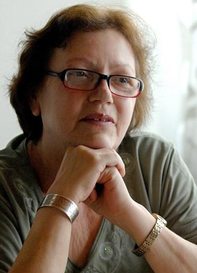 Съпругата на Георги Аспарухов Величка Маркова. СНИМКА: НАЙДЕН ТОДОРОВ