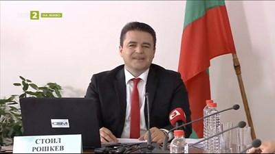 Стоил Рашкев на изслушването за генерален директор на БНТ пред СЕМ СНИМКА: БНТ