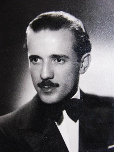Петър Папакочев в средата на 30-те години на миналия век