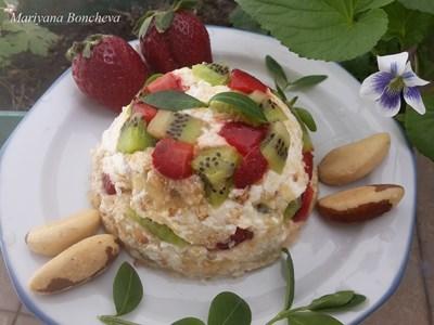Бърз десертс лешниции бадеми